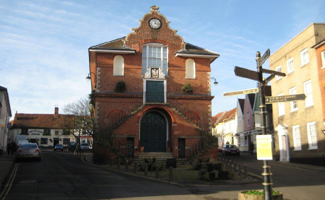 The Shire Hall, Woodbridge